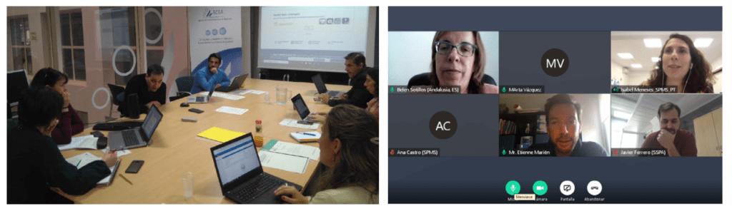 AppSaludable Twinning Meetings