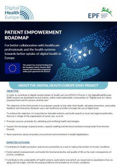 DHE Patient Empowerment Roadmap